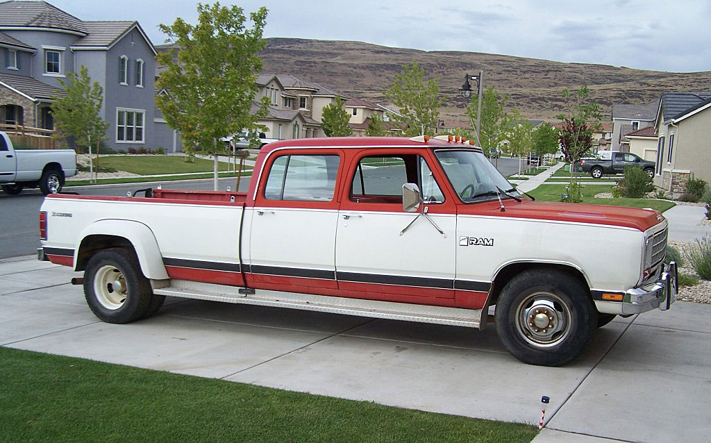 Other Dodge D-350 Dually Crew Cabs I've found for sale, Part I